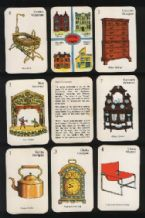Collectible cards game. Period Pieces antiques.